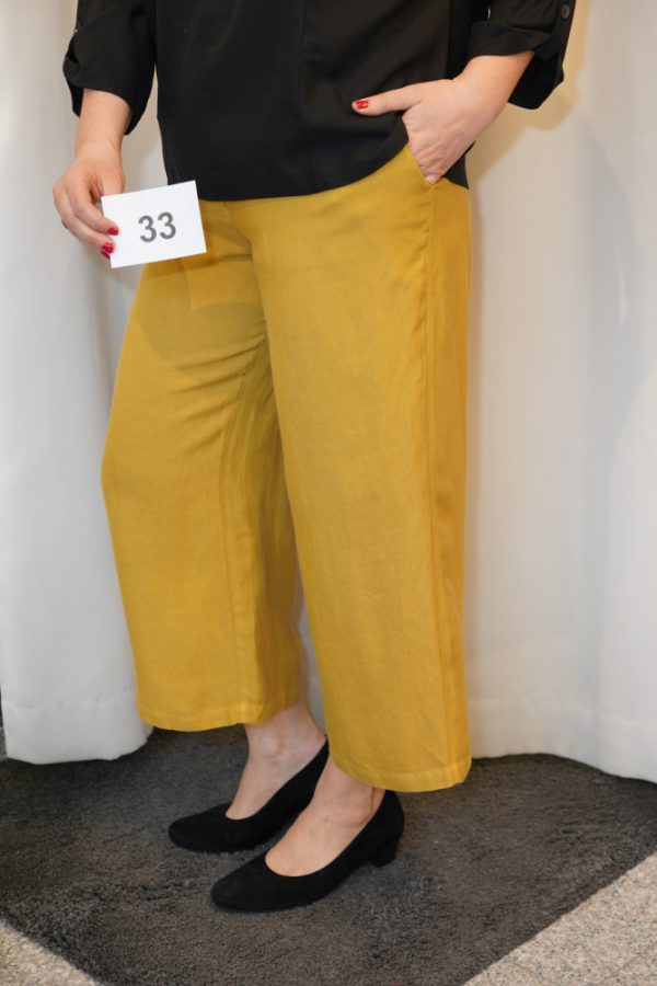 Culotte, curry, Modell Frieda