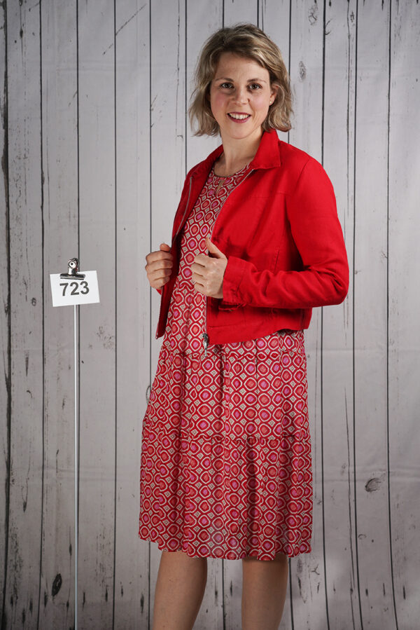 Kleid Viskoeprint Cherry