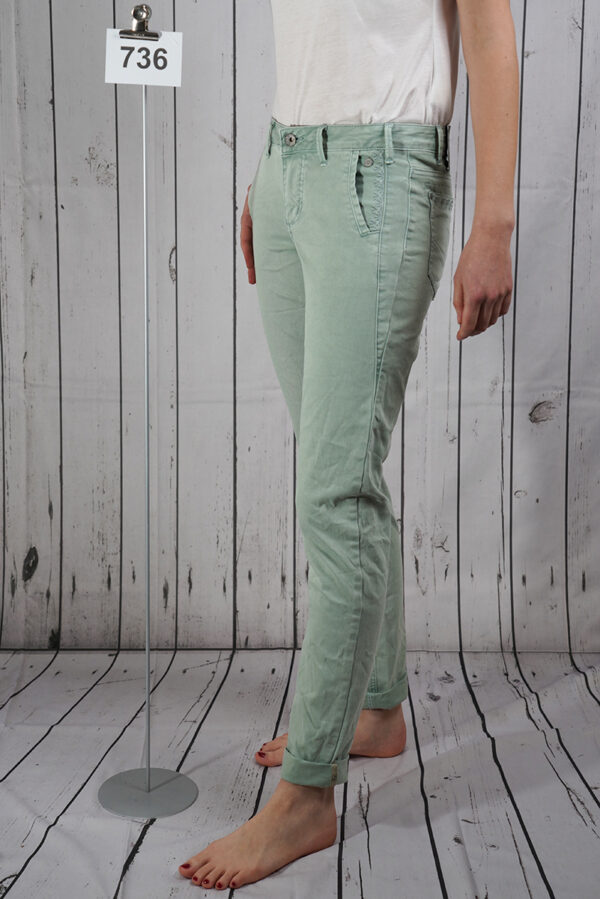 Hose jade loose long
